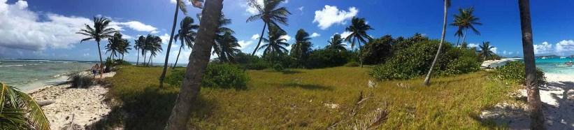 Panorama de l'île de Petit Tabac.