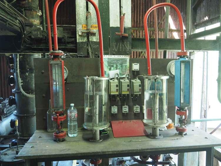 Distillerie de rhum Père Labat à Marie-Galante.