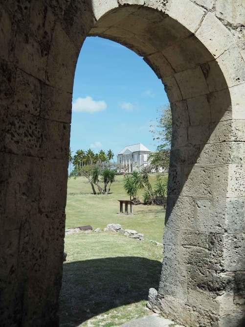 Visite de l'habitation Murat sur l'île de Marie-Galante.