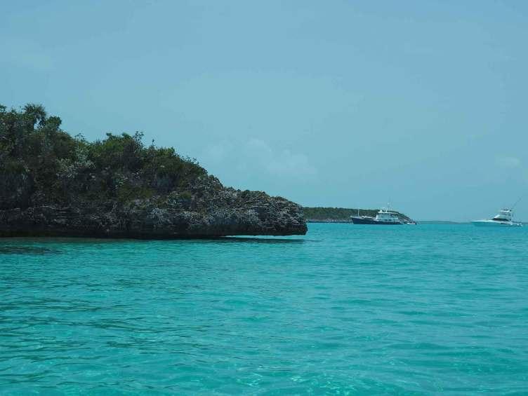 Les Exumas, au coeur des Bahamas.