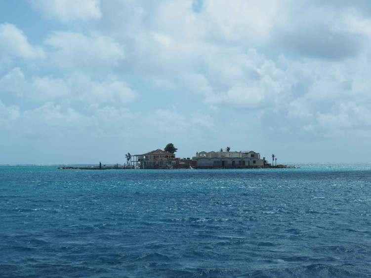 Petite île dans le Gorda Sound, sur Virgin Gorda, aux BVI.