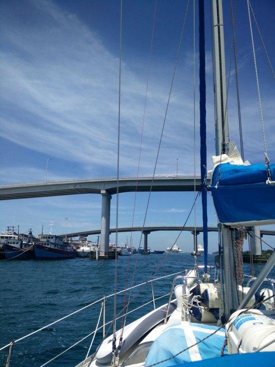 Les ponts qui relient New Providence et Paradise Island aux Bahamas.