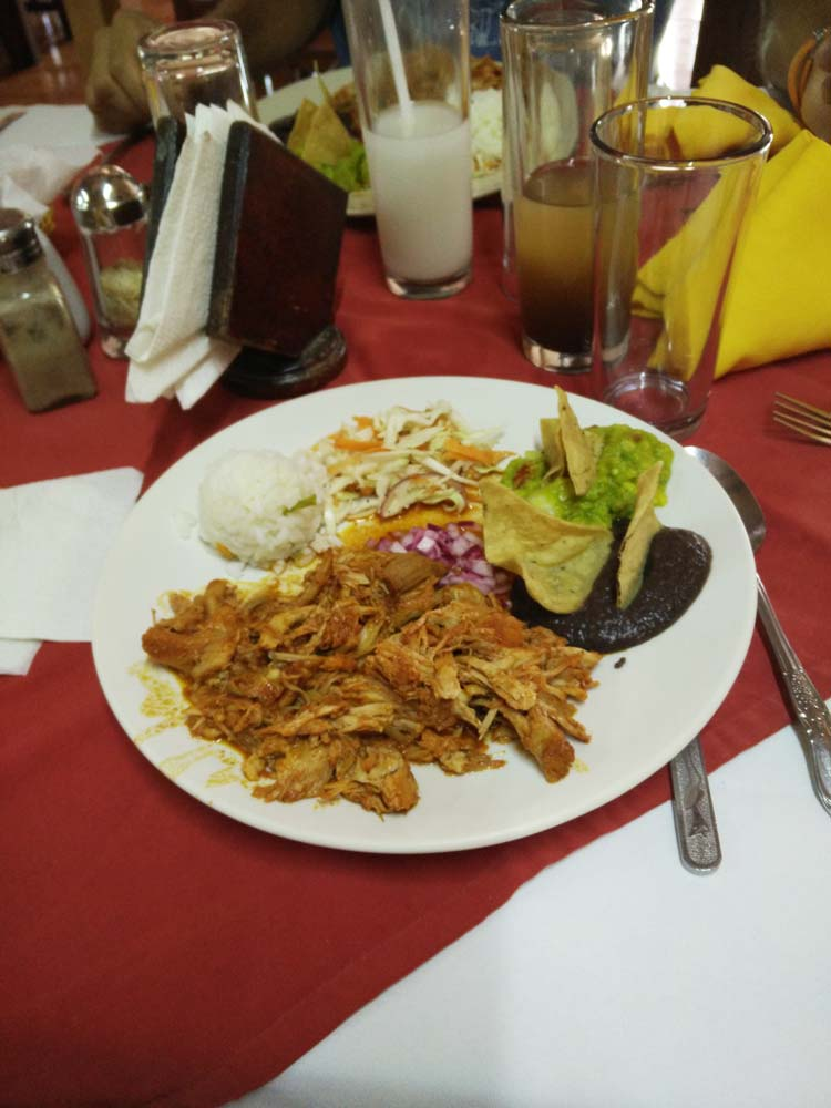 Cochinita pibil au Mexique.