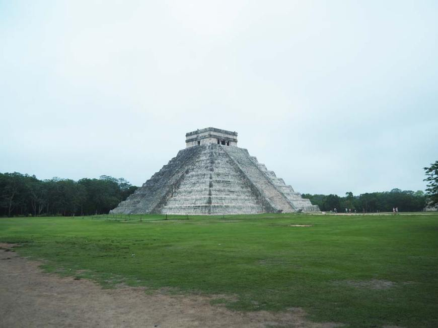 El Castillo, la pyramide si emblématique de Chichén Itzá au Mexique.