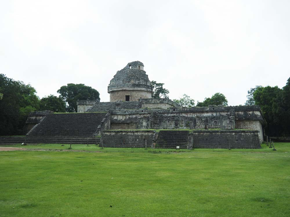 Observatoire maya sur le site de Chichén Itza.