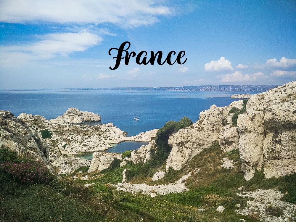 Destination France en voilier.