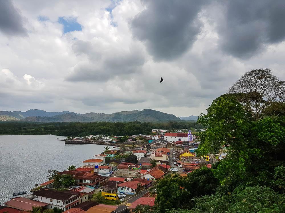 Ville de Portobelo, au Panama.