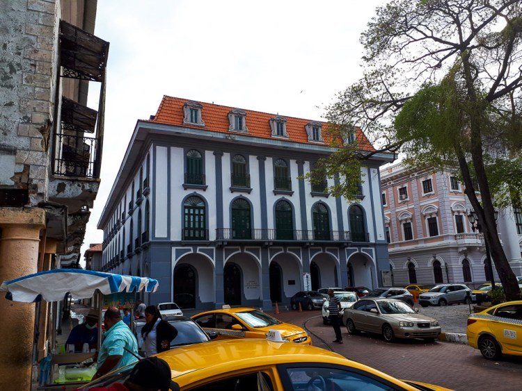 Musée sur le canal dans la vieille ville de Panama City.
