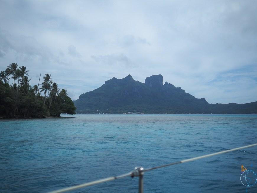 Les monts Pahia et Otemanu de Bora Bora.