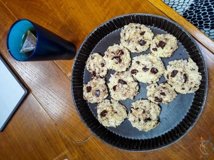 Cookies maison cuisinés à bord de Manwë.