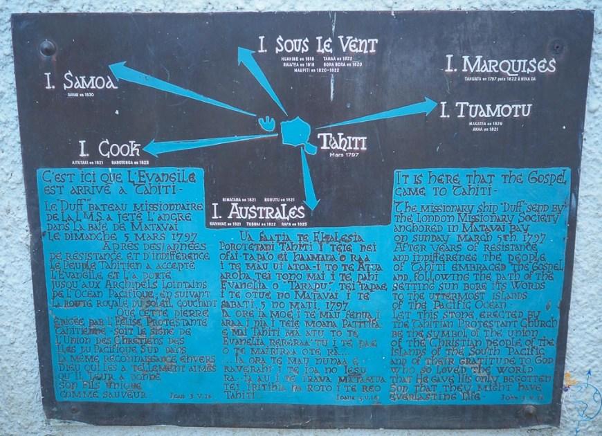 Texte expliquant comment le christianisme s'est diffusé dans le Pacifique Sud.