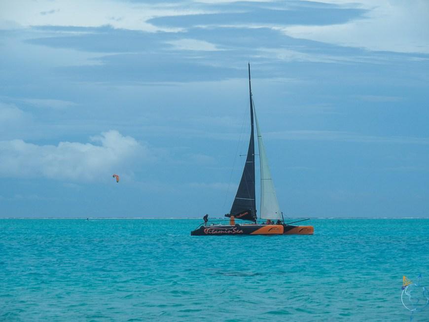 Croisière sur le lagon de Bora Bora avec le Vitamin Sea.