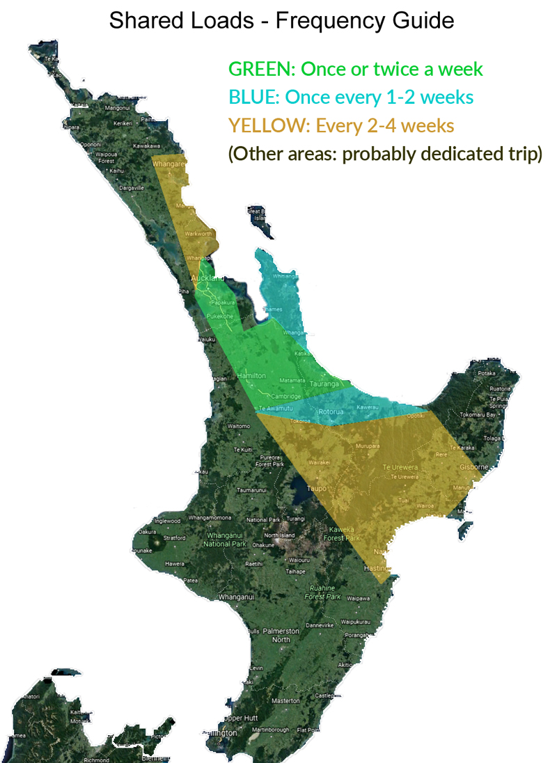 moving within nz north island wide