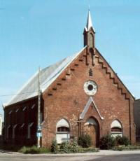 1890- 1945 Elbing Mennonite Church (recent photo)