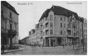 Allenstein Ostpreußen, Hohenzollernstraße- source Reinhard Gebauer, Oberhausen