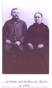 Wm and Katharine Henss 1900