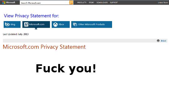 microsoftprivacy