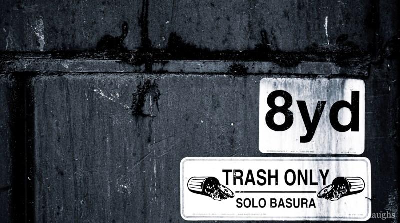 8yd Trash Only