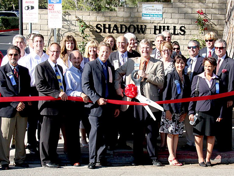 Shadow Hills Ribbon Cutting community