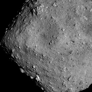 Asteroid Ryugu from an altitude of 6km