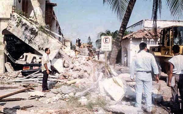 Hoy se cumplen 24 años del terremoto del 95 que devastó Manzanillo