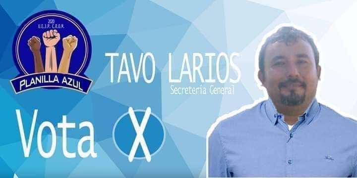 Héctor Gustavo Larios Uribe, nuevo secretario general de la Unión de Estibadores y Jornaleros del Pacífico CROM