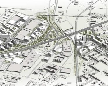 Urbanistická štúdia Od ružinovskej radiály k letisku Štefánika, Bratislava