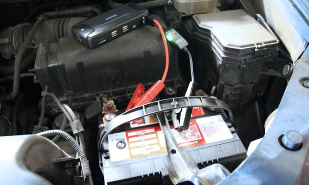 Auxiliar de  Bateria – Chupeta portátil para seu carro