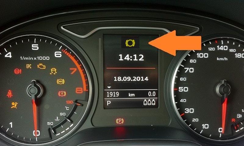 Luzes acesas no painel podem parar seu carro