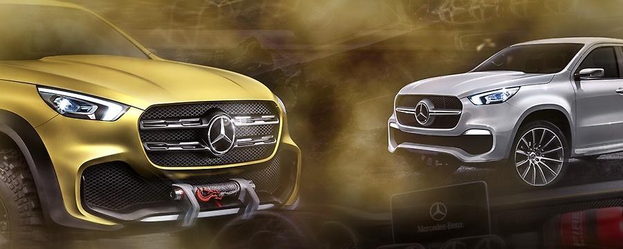 Mercedes anuncia o Classe X
