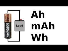 O que é Ah das baterias?