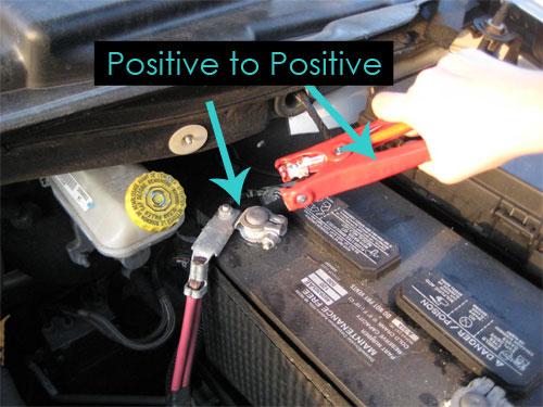 Qual é o positivo e o negativo de uma bateria?