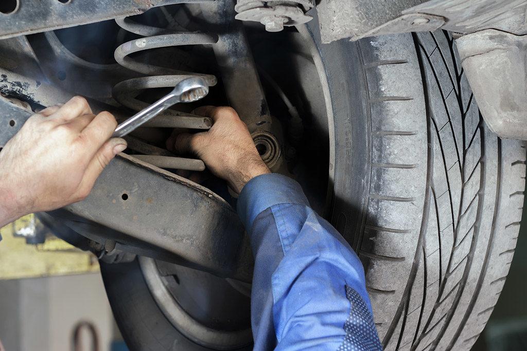 suspensão de carro