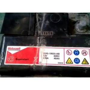 Qual é a bateria do Ecosport?