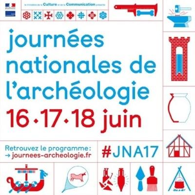 Animation aux Journées Nationales de l'Archéologie