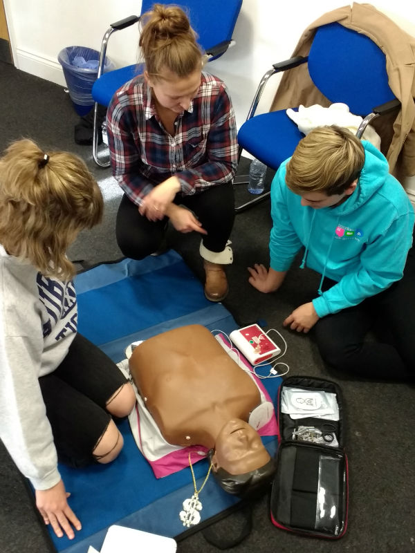 First Aid Training with Broadland YAB