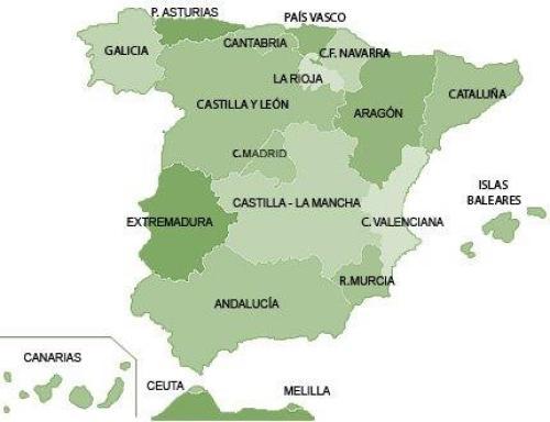 Indicadores Territoriales por Comunidades Autónomas