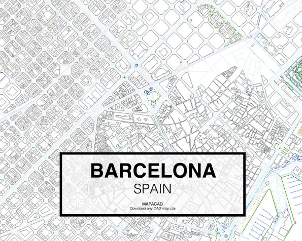 Barcelona-Spain-02-Mapacad-download-map-cad-dwg-dxf-autocad-free-2d-3d