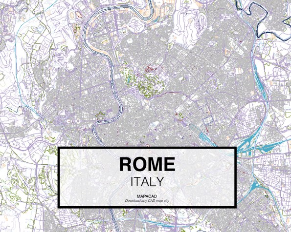 Rome-Italy-01-Mapacad-download-map-cad-dwg-dxf-autocad-free-2d-3d