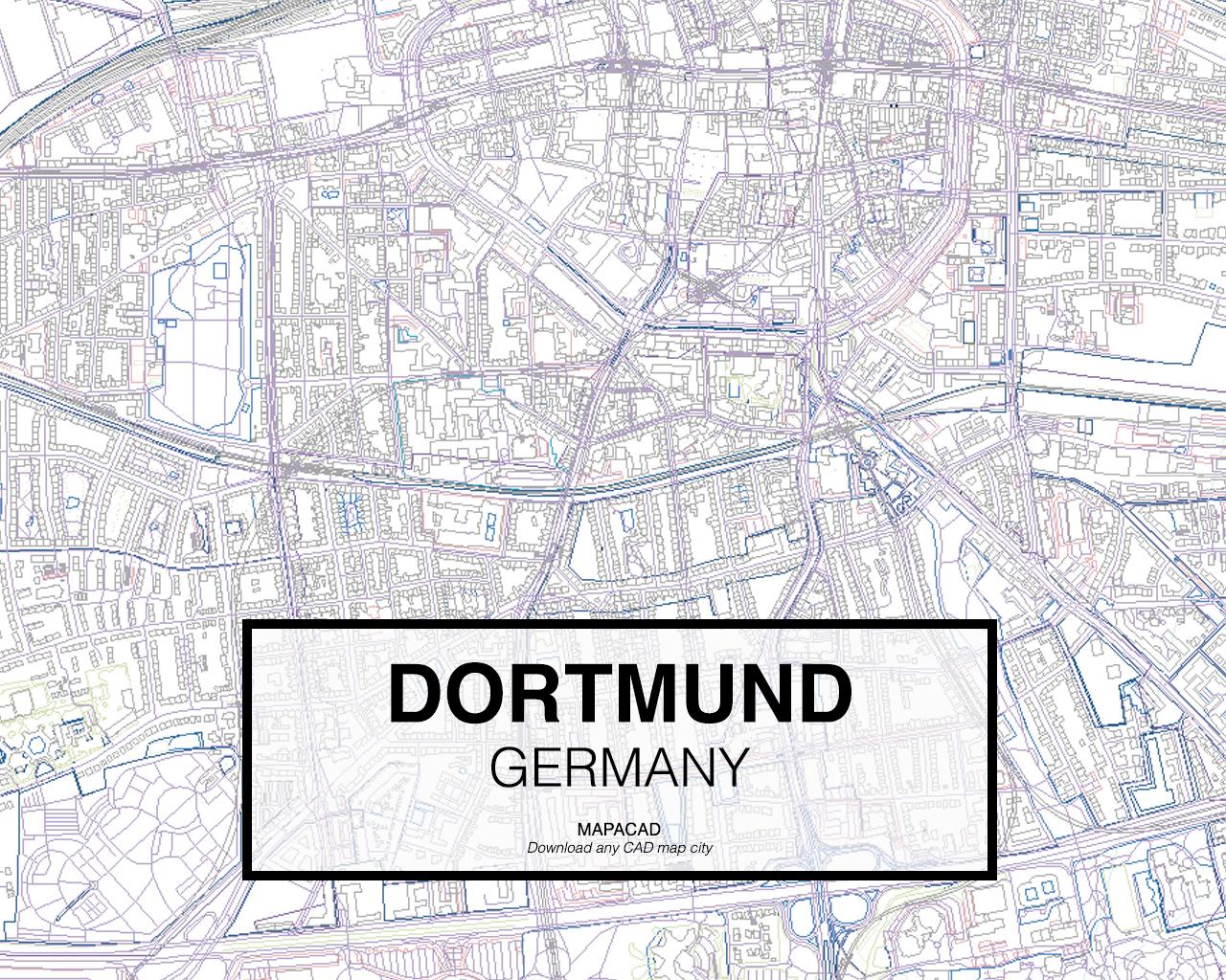 dortmund germany 02 mapacad download map cad dwg