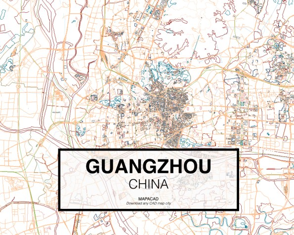 Guangzhou-China-02-Mapacad-download-map-cad-dwg-dxf-autocad-free-2d-3d