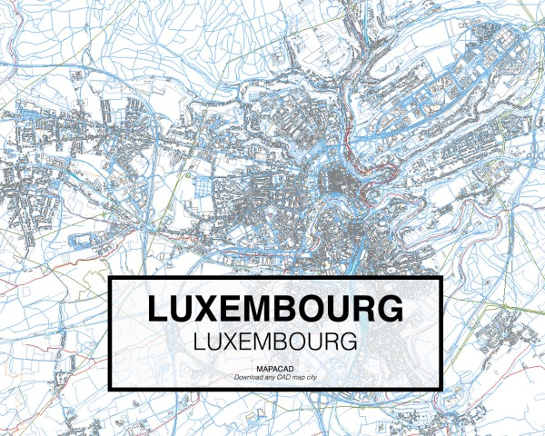 Luxembourg-Luxembourg-01-Mapacad-download-map-cad-dwg-dxf-autocad-free-2d-3d