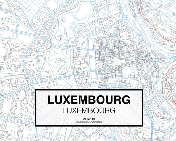 Luxembourg-Luxembourg-02-Mapacad-download-map-cad-dwg-dxf-autocad-free-2d-3d