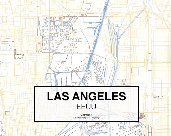Los-Angeles-EEUU-03-Mapacad-download-map-cad-dwg-dxf-autocad-free-2d-3d