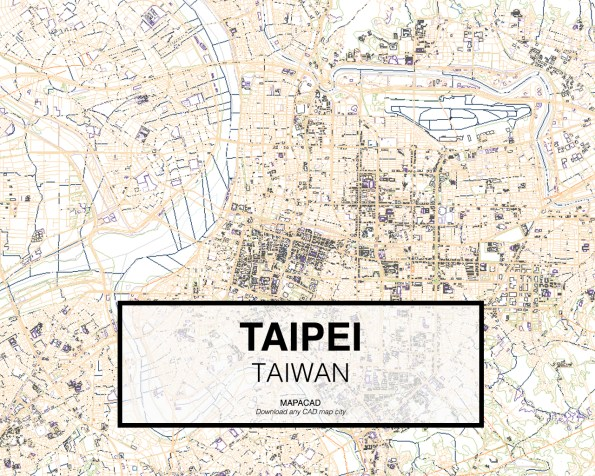 Taipei-Tailand-02-Mapacad-download-map-cad-dwg-dxf-autocad-free-2d-3d
