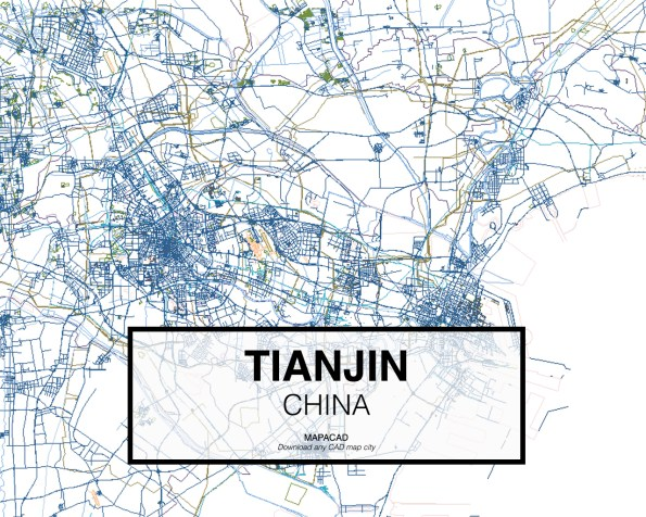 Tianjin-China-01-Mapacad-download-map-cad-dwg-dxf-autocad-free-2d-3d