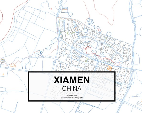 Xiamen-China-03-Mapacad-download-map-cad-dwg-dxf-autocad-free-2d-3d