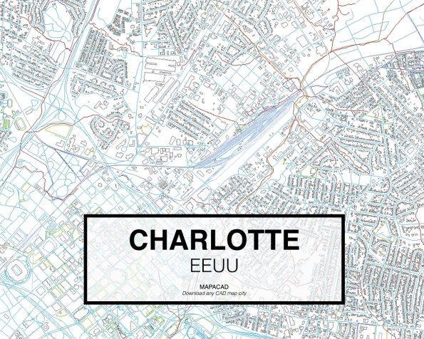 Charlotte-EEUU-02-Mapacad-download-map-cad-dwg-dxf-autocad-free-2d-3d