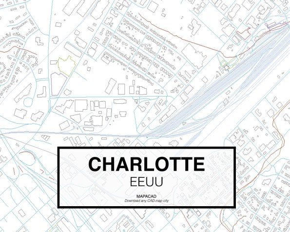 Charlotte-EEUU-03-Mapacad-download-map-cad-dwg-dxf-autocad-free-2d-3d