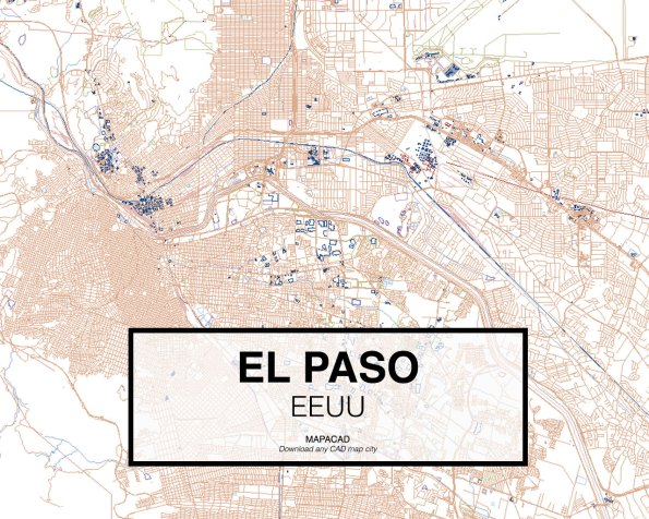 El-Paso-EEUU-01-Mapacad-download-map-cad-dwg-dxf-autocad-free-2d-3d